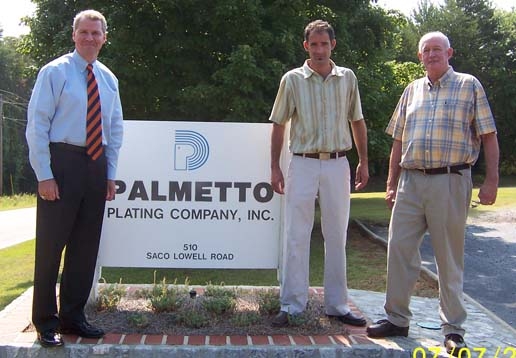 Grasham Barrett at Palmetto Plating